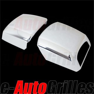 07 12 Toyota Tundra Chrome Towing Trailer Mirror Cover A Pair