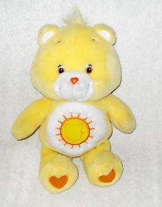 "11"" Plush Yellow Care Bears Funshine Bear by Play Along"