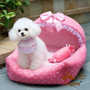 Pet Product Supplies Pet Dog Cat Bed Sofa House Cushion Mat Warm Soft Cute