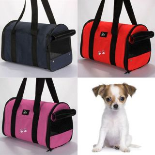Size M Portable Pet Dog Cat Puppy Travel Carrier Case Cage Tent Kennel Bag Crate