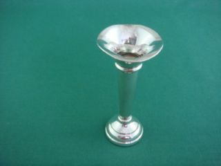 Vintage Solid Sterling Silver Bud Vase Hallmarked and Dated 1969 Collectable