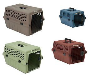 Petmate Dlx Vari Kennel Jr Airline Pet Carrier Small Dog Cat Travel Tote Crate