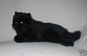 New Black Cat Kitten Soft Stuffed Animal Plush Toy 13inch 33cm