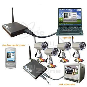 Wireless Camera Kit Home Security Surveillance System