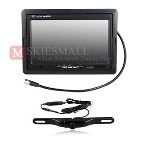 Car Rear View System Wireless Backup Camera 7 inch Color TFT LCD Car Monitor