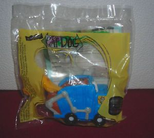 Burger King Nickelodeon Cat Dog Garbage Truck Toy