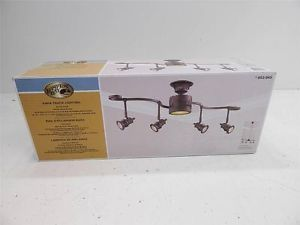 Hampton Bay 853645 Kara Track Lighting Bronze Finish 13623