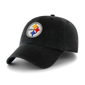Pittsburgh Steelers NFL Football Clean Up Slouch Crown Adjustable Hat Cap New