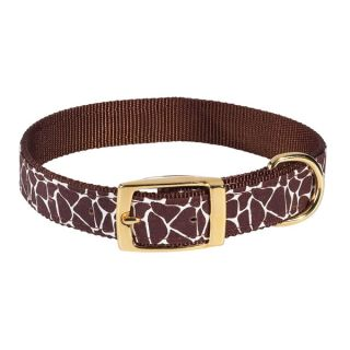 "11 14"" Medium Zack Zoey Animal Print Dog Collars"