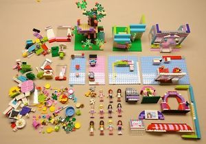 11 Lego Friends Minifigures Girls w Accessories Animals Parts lbs Pounds
