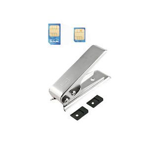 Micro Mini Sim Card Maker Cutter 2 Adapter for Samsung Note 2 Galaxy SIII S3 S4