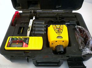 CST Berger LM30 Wizard Rotary Laser Level Lasermark Wizard Kit w Accessories