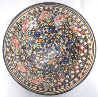 Decorative Ceramic Bowls Hand Painted Wall Hanging Art Kitchen Table Decor New