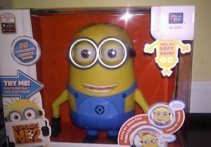 Despicable Me 2 Talking Minion Dave Action Figure Doll New