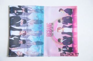 BIGBANG Big Bang Korean Band Passport Holder Cover C1