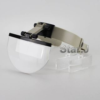 Dental Lab Hands Free Head Magnifying Glass Magnifier