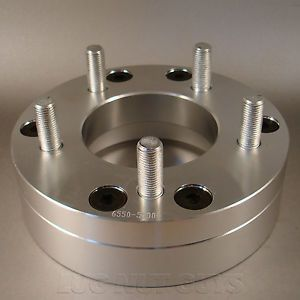 "4 Wheel Spacers Adapters 6x5 5 to 5x5 2"" Thick 6 Lug to 5 Lug 5x127"