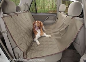 Solvit Hammock Bench Car SUV Van Seat Cover Dog Cat Pet Seat Protector New