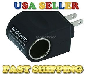 AC Wall Home Power to DC Car Charger Cigarette Lighter Adapter Power Converter