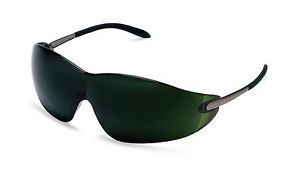 S21150 Blackjack Safety Glasses Green Shade 5 0 Welders Lens w Metal Temples