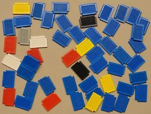 50 Lego Shutters for Windows Houses Buildings Farm Buildings C9350