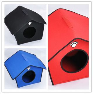 Kennel Doggy Warm Puppy House Cushion Soft Pet Dog Sleeping Bed House 3 Color