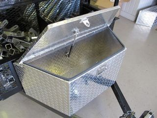 Gudcraft 884 Aluminum Trailer Tongue Tool Box