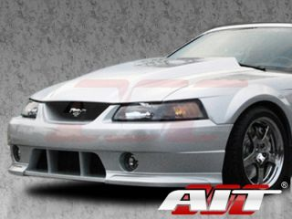 1999 2004 Ford Mustang AIT Racing Type 4 Style Functional Cooling Cowl Hood