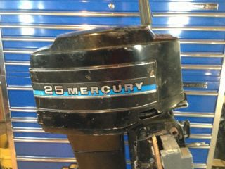 1982 Mercury 25 HP Outboard Motor 20 Boat Engine 30 40 Mariner