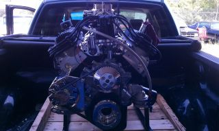 Ford 351W Roller Stroker Engine Kit 427 CU in 540HP Heads Crank Dart Block Etc