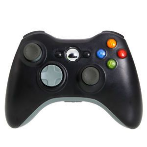 New Wireless Game Controller for Xbox 360 PC Black