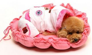 Pet Puppy Dog Cat Soft Bed Sleeping Bag Warm Cushion 3