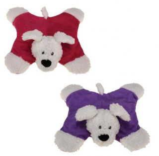 Zanies Sherpa Sidekick Dog Toy Plush Toys Squeaky Squeaker Dogs