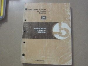 John Deere Kawasaki FA FG FB KF FZ420 460 540 Engine Service Repair Manual