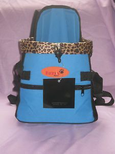 Pet Carrier Dog Puppy Carrier Color Blue by Betty Paw
