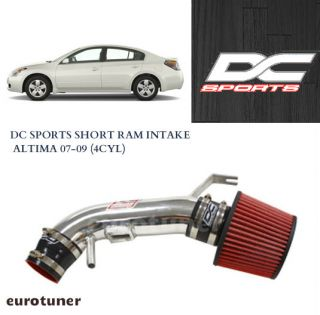 DC Sports Carb Legal Short RAM Air Intake Kit 07 09 Nissan Altima 4CYL