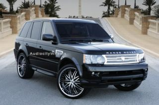 "26"" Wheels and Tires for Land Range Rover Lexani Rims"