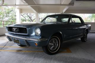 1966 Ford Mustang CA Black Plate Car Restored Matching 's 1965 1964 Style