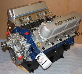 Ford Racing 460 Cubic inches 575 HP Crate Engine Rear Sump