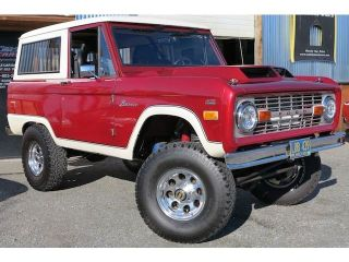 1974 Ford Bronco Uncut 408 Stroker Monster Classic SUV