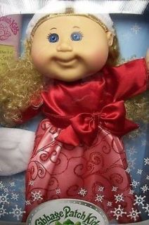 Cabbage Patch Kids Doll Blond Holiday Limited Ed 2012 Quinn Paige December 31st