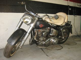 1960 Harley Davidson FL Duo Glide  World Wide Seller RARE