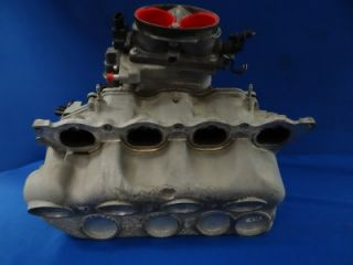 03 04 Ford Mustang Mach 1 DOHC 4V 4 6 Intake Manifold Throttlebody for Turbo