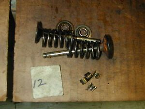 John Deere Kawasaki OHV 19HP Twin Cylinder FH580V Engine Valves Springs