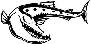 Barracuda Vinyl Decal Car Truck Boat Window Sticker