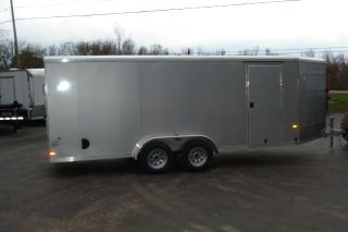 2014 Neo 7x22 ft Enclosed Aluminum Snowmobile Trailer