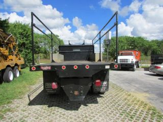 2000 Ford F 650 Super Duty Diesel 7 3 Flatbed Used
