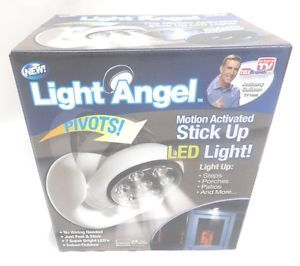 Light Angel Motion Activated Stick Up LED Light as Seen on TV