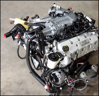03 04 Ford Mustang Cobra Eaton M112 Supercharged Complete 4 6 Engine Terminator
