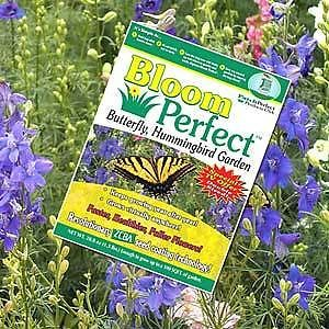 Bloom Perfect as Seen on TV Flower Seeds Patch Grass Seed Bird Garden Grow